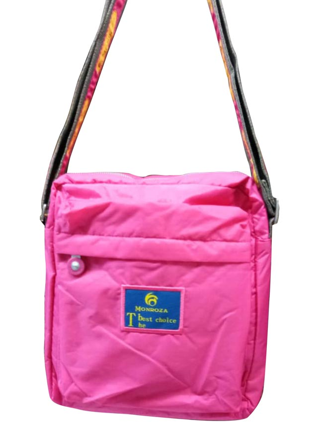 WHB SARE 13-PINK YELLOW-WOMEN HANDBAG