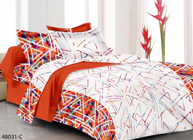 KING SIZE DOUBLE BEDSHEET-SOLITAIRE JUNE 01-D NO 3