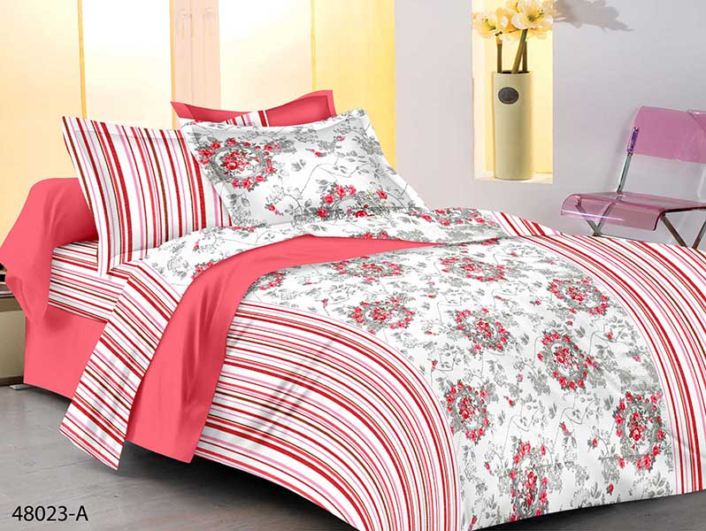 KING SIZE DOUBLE  BEDSHEET-SOLITAIRE JUNE 01-D NO 6