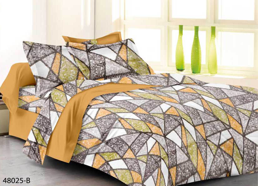 KING SIZE DOUBLE  BEDSHEET-SOLITAIRE JUNE 01-D NO 8