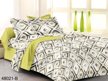 KING SIZE DOUBLE  BEDSHEET-SOLITAIRE JUNE 01-D NO 10