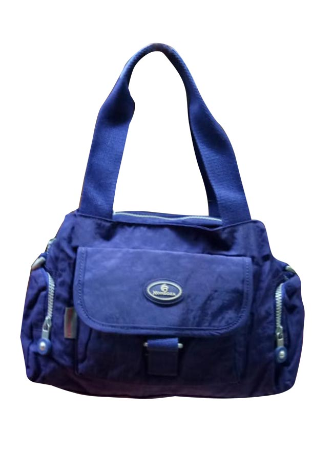 WHB SARA 14-NAVY BLUE-WOMEN HANDBAG