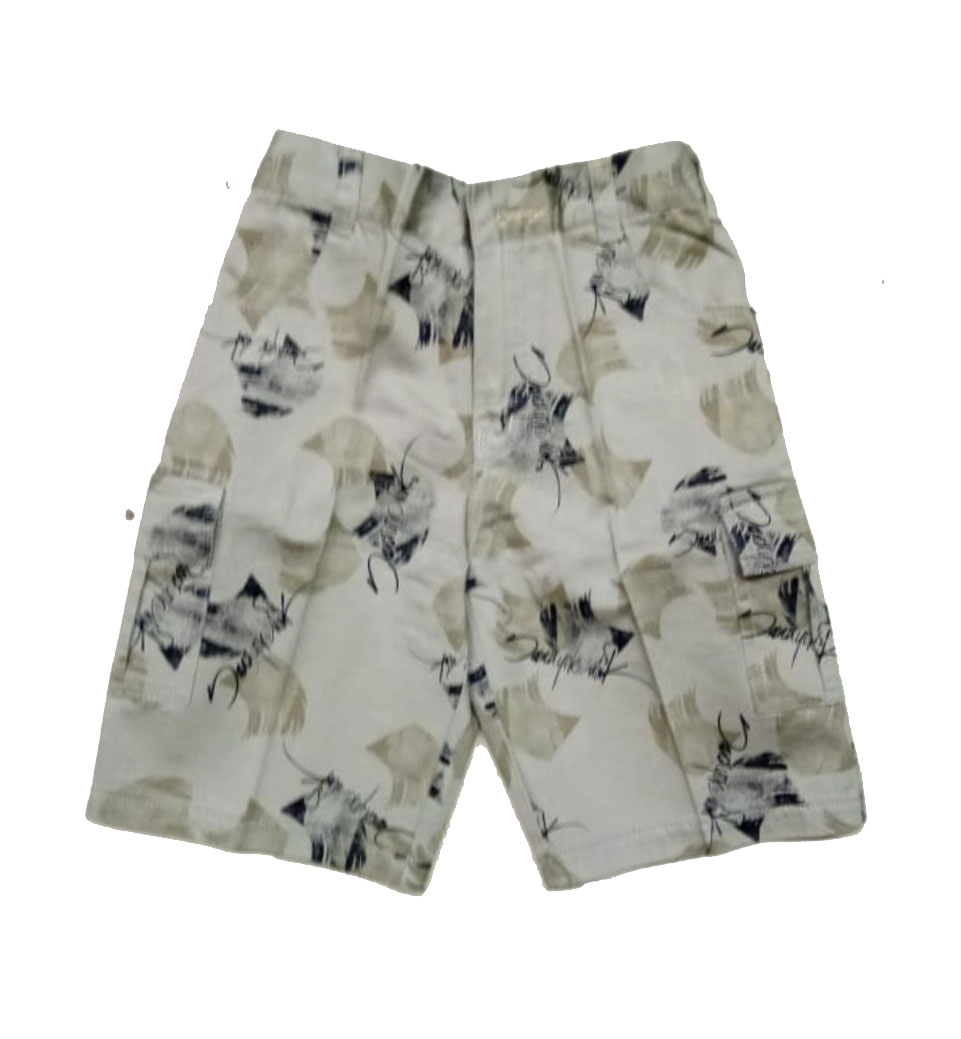AARUSH DENIM 10-MEHANDI-KIDS SHORTS AND 3/4TH