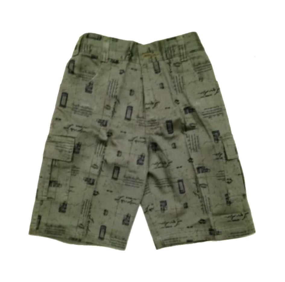 AARUSH DENIM 12-MEHANDI BLACK-KIDS SHORTS AND 3/4TH