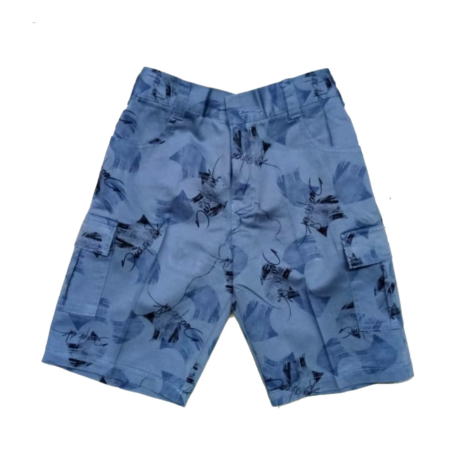 AARUSH DENIM 13-SKY BLUE-KIDS SHORTS AND 3/4TH