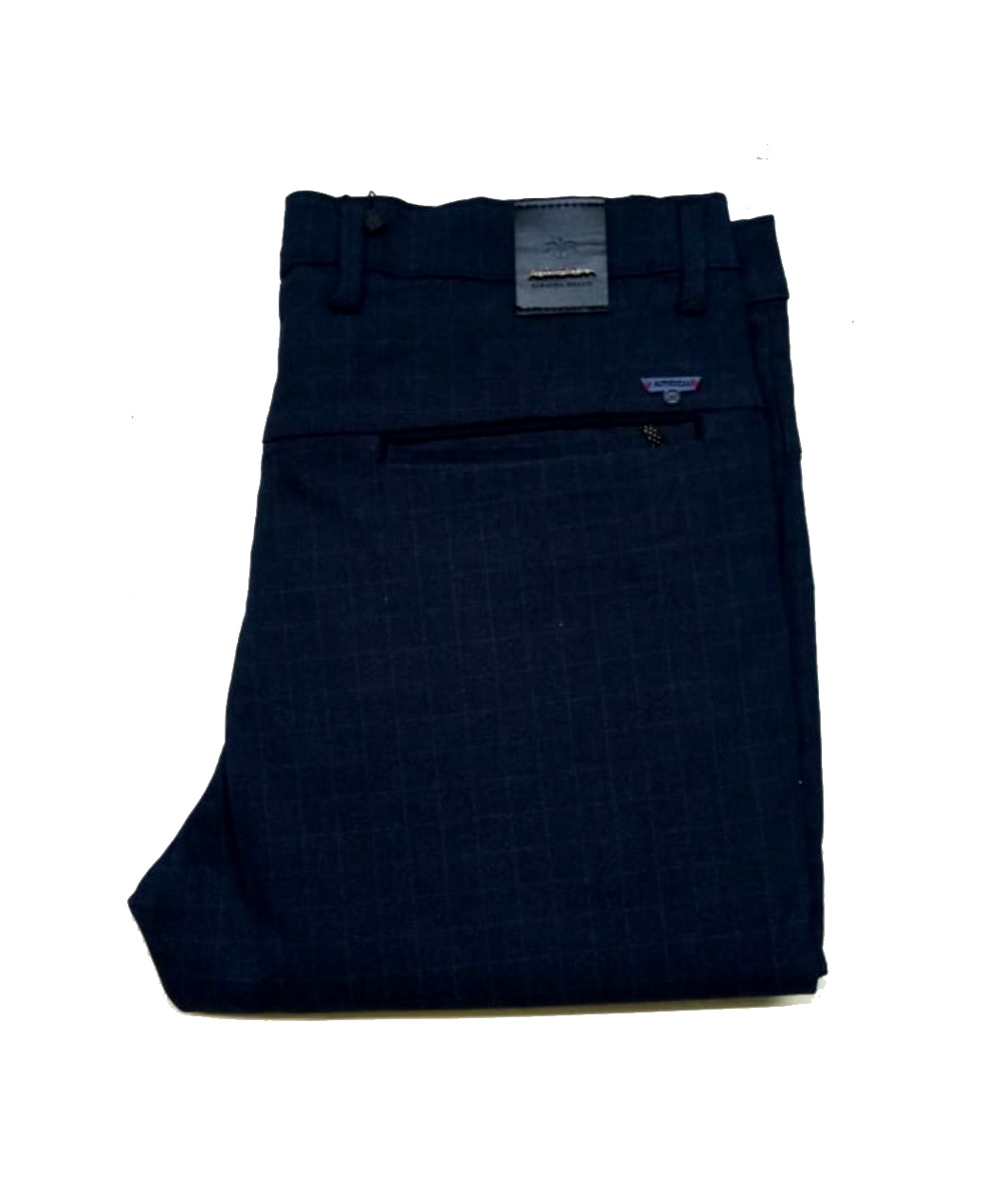 UTD D TELEGRAM-BLUE MEN'S CASUAL TROUSER
