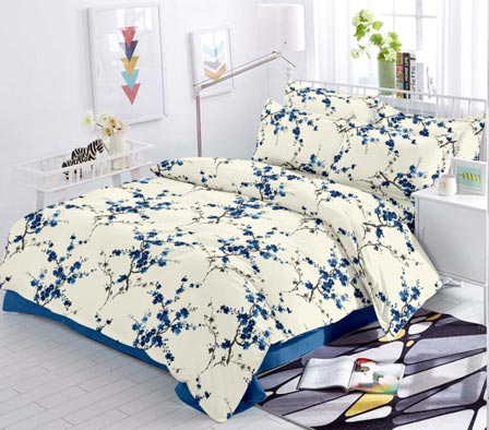 KING SIZE DOUBLE BEDSHEET-SOLITAIRE JULY 01-D NO 1