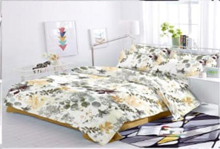 KING SIZE DOUBLE BEDSHEET-SOLITAIRE JULY 01-D NO 2