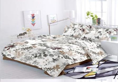 KING SIZE DOUBLE BEDSHEET-SOLITAIRE JULY 01-D NO 4