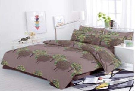 KING SIZE DOUBLE BEDSHEET-SOLITAIRE JULY 01-D NO 5