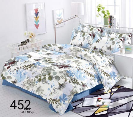 KING SIZE DOUBLE BEDSHEET-SOLITAIRE JULY 01-D NO 6