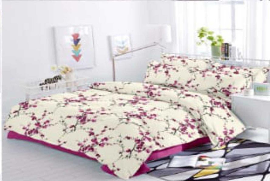 KING SIZE DOUBLE BEDSHEET-SOLITAIRE JULY 01-D NO 7