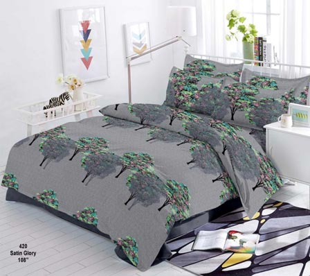 KING SIZE DOUBLE BEDSHEET-SOLITAIRE JULY 01-D NO 8