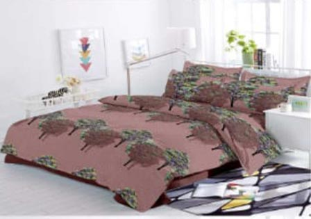 KING SIZE DOUBLE BEDSHEET-SOLITAIRE JULY 01-D NO 9
