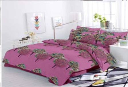 KING SIZE DOUBLE BEDSHEET-SOLITAIRE JULY 01-D NO 10