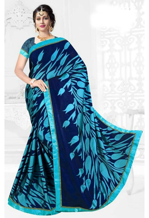 WOMEN SAREE WITH BLOUSE-D NO 21004-DF JULY TIKTOK 02