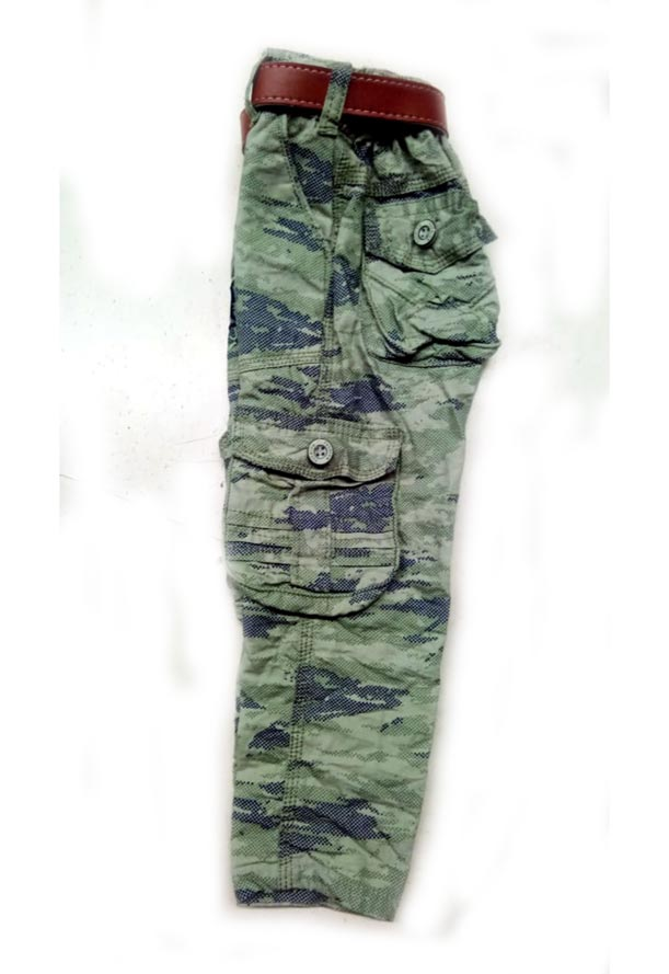 RI JULY D NO 3181-GREEN NAVY-KIDS TROUSER
