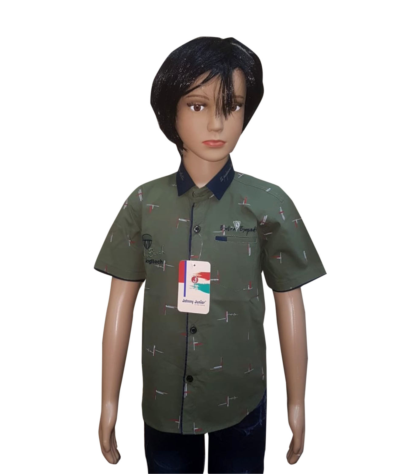 KHS AUG 2019 14-MAHENDI KIDS HALF SLEEVES SHIRT