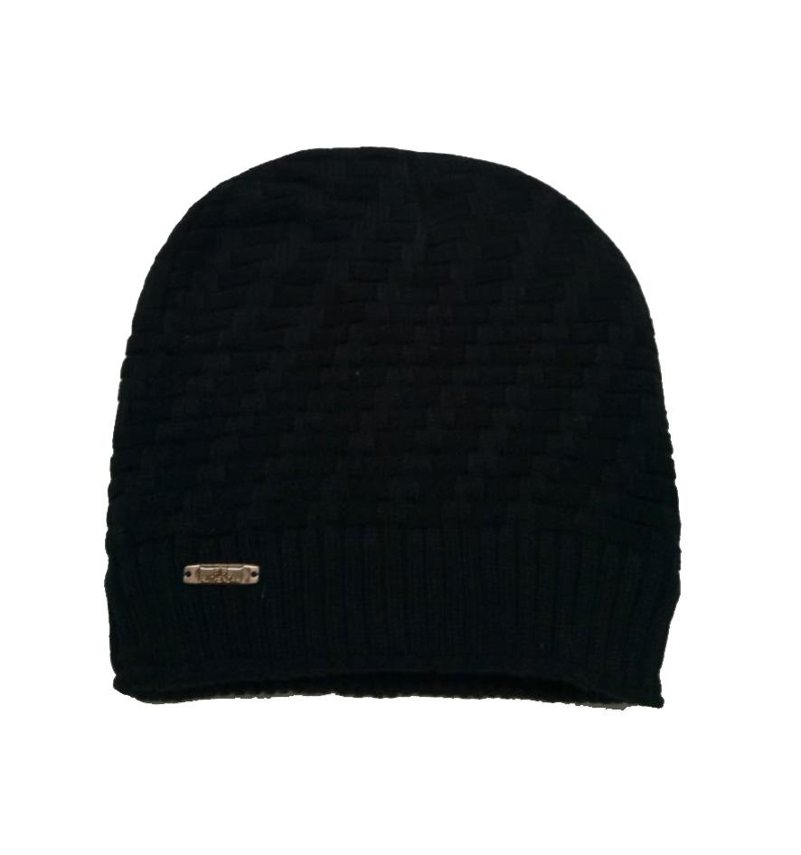 MNC CORAL 02-BLACK MEN WINTER CAP