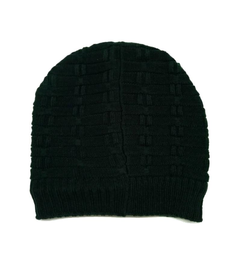 MNC D NO 18165-GREEN MEN WINTER CAP