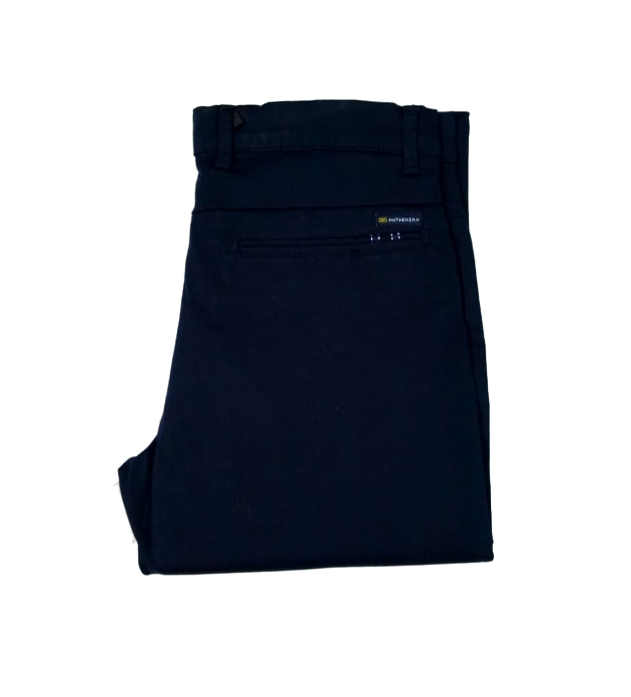 UTD SEP SATIN 01 2019-NAVY BLUE MEN CASUAL TROUSER