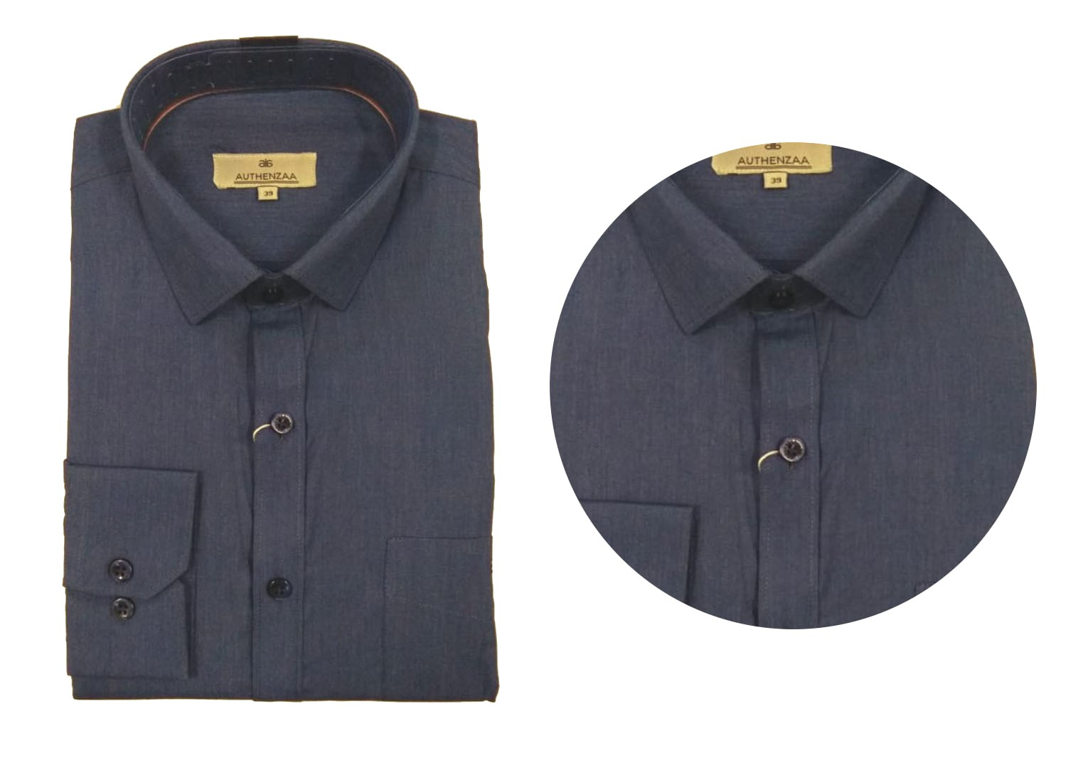 BT SEP 02 2019-GRAY MEN'S FORMAL SHIRT