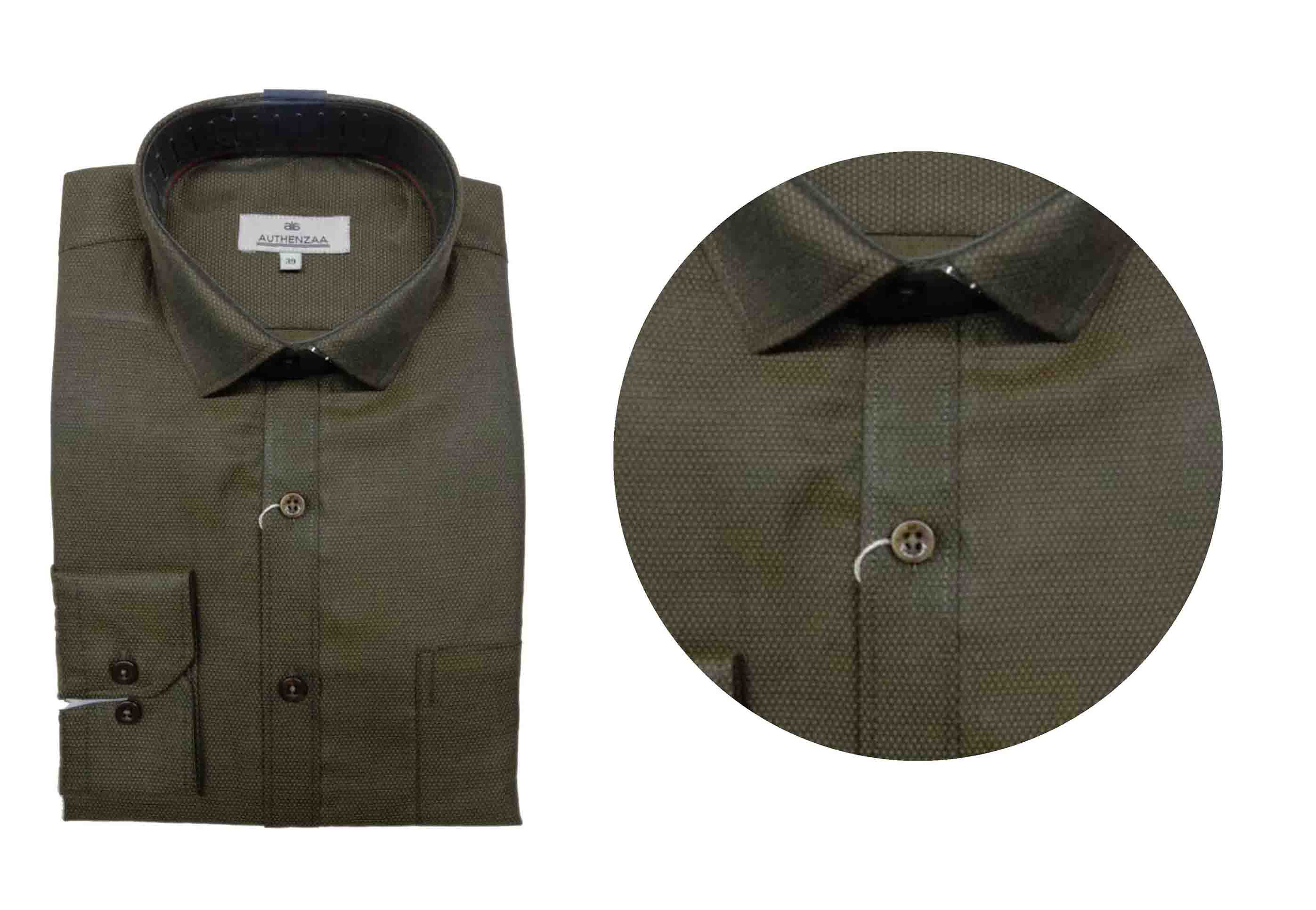 BT SEP 03 2019-PISTA CHECK MEN'S FORMAL SHIRT