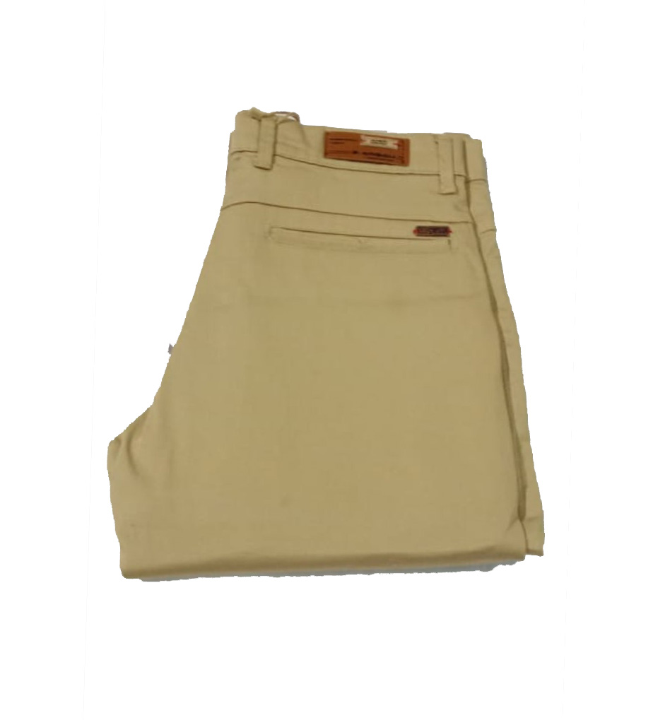 UTD SEP SATIN 03 2019-KHAKHI MEN CASUAL TROUSER