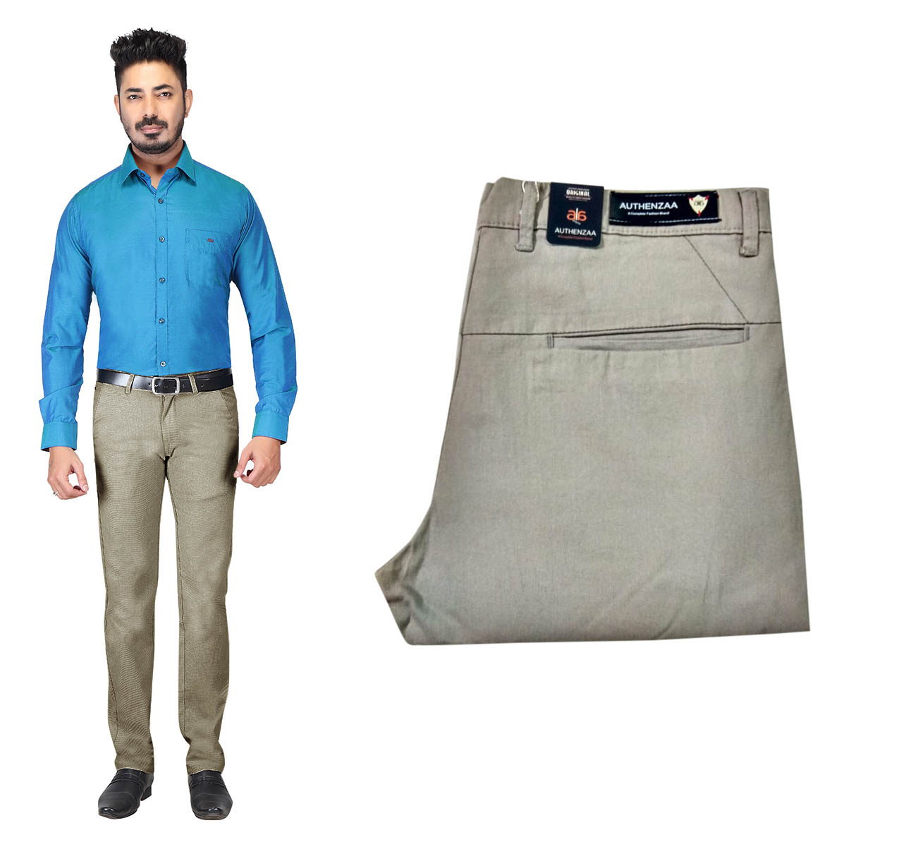 UTD OCT SUPER 97 2019-STONE MEN CASUAL TROUSER
