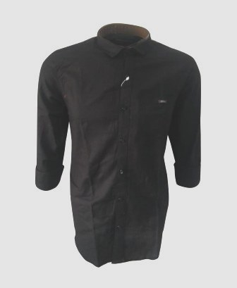 NC NOV J 704 2019-BLACK MENS CASUAL SHIRT