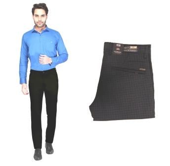 UTD NOV CM-1144 2019-NAVY BLUE MEN CASUAL TROUSER