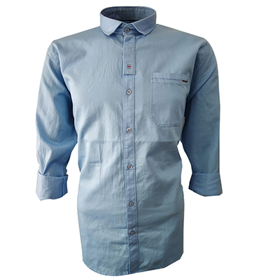 NC JAN J 714 2019-SKY BLUE MENS CASUAL SHIRT