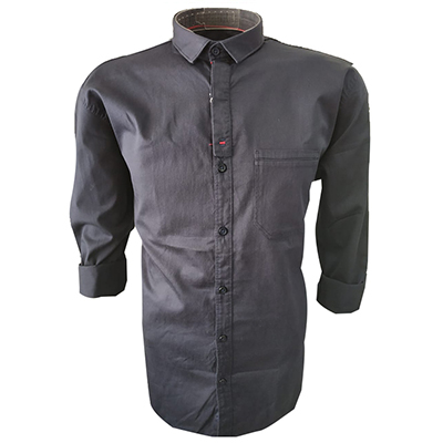 NC JAN J 714 2019-RAYMOND NAVY MENS CASUAL SHIRT