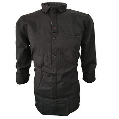 NC JAN J 714 2019-BLACK MENS CASUAL SHIRT