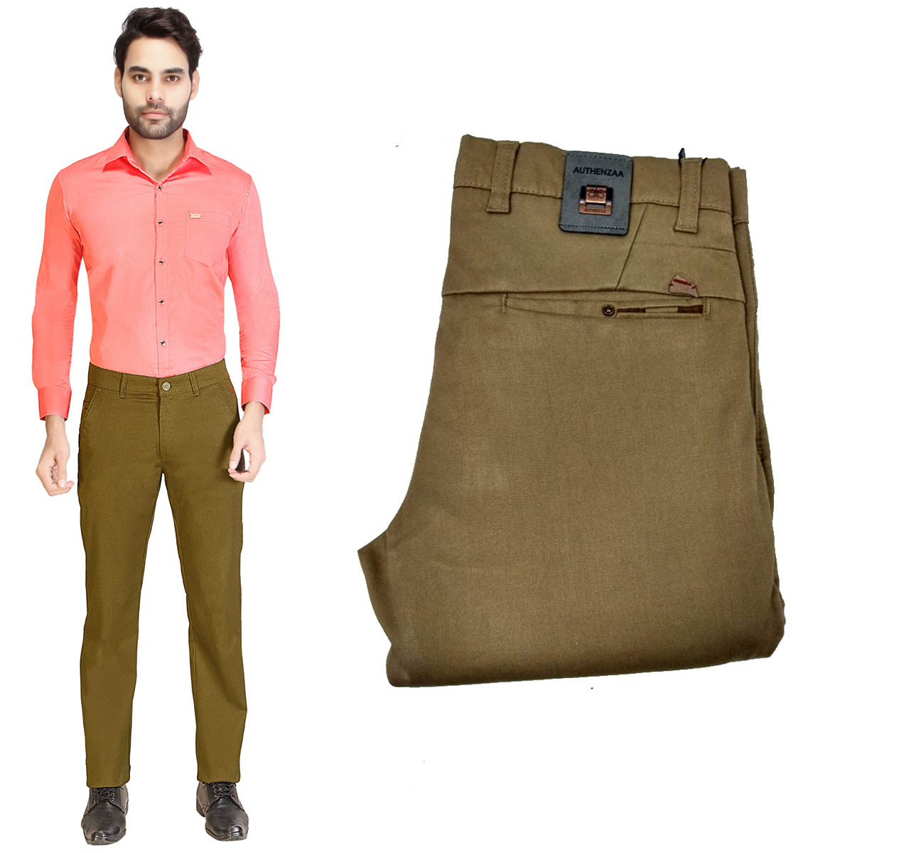 AE JAN LAFFER 2020-GOLDEN MEN CASUAL TROUSER