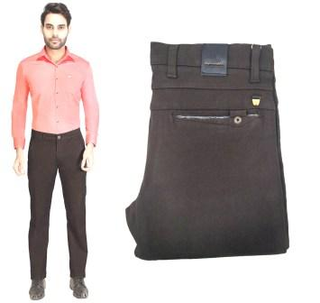 AE JAN KNIT LAFFER 2020-COFFEE MEN CASUAL TROUSER