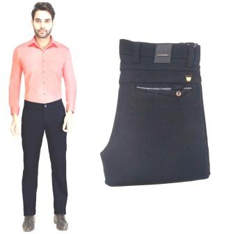 AE JAN KNIT LAFFER 2020-BLACK MEN CASUAL TROUSER