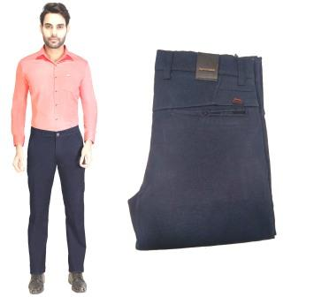 AE JAN KNIT 2020-ROYAL BLUE MEN CASUAL TROUSER