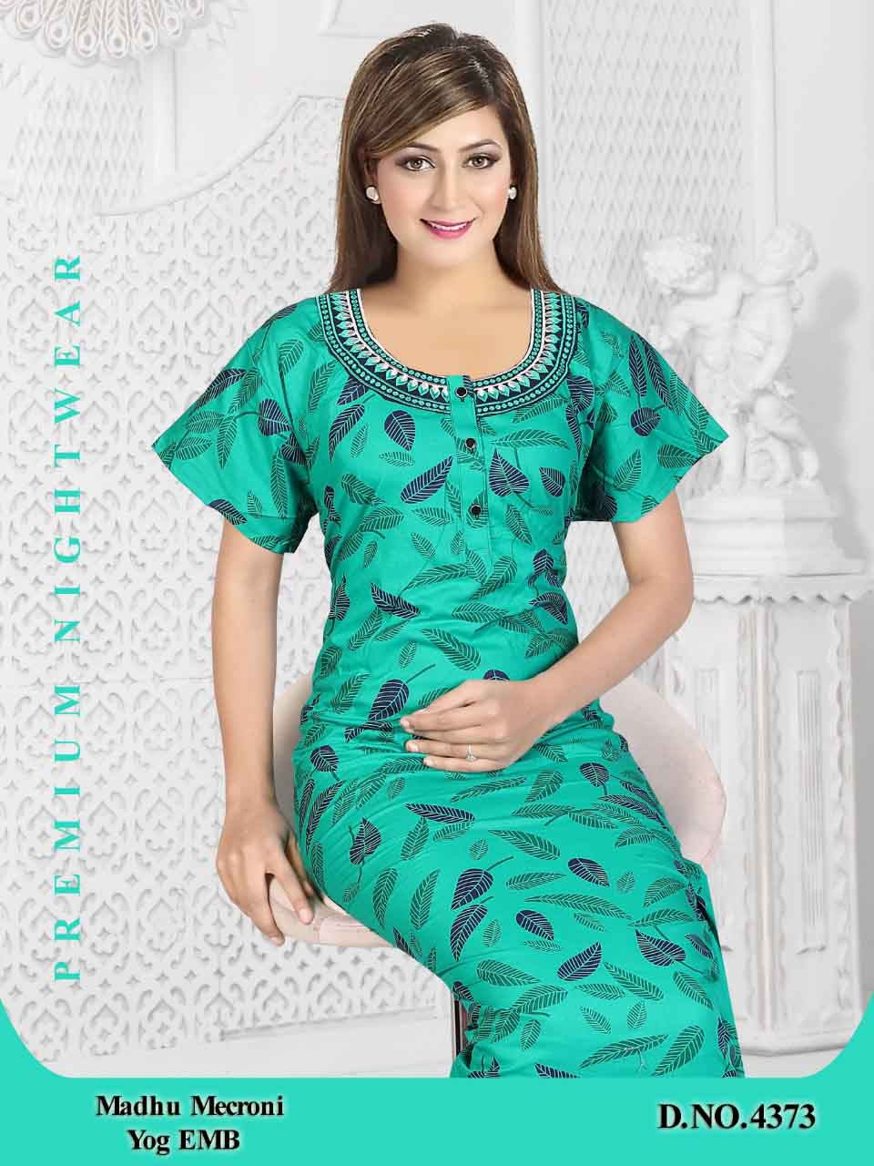 WOMEN NIGHTY-GREEN-ML JUNE 4373