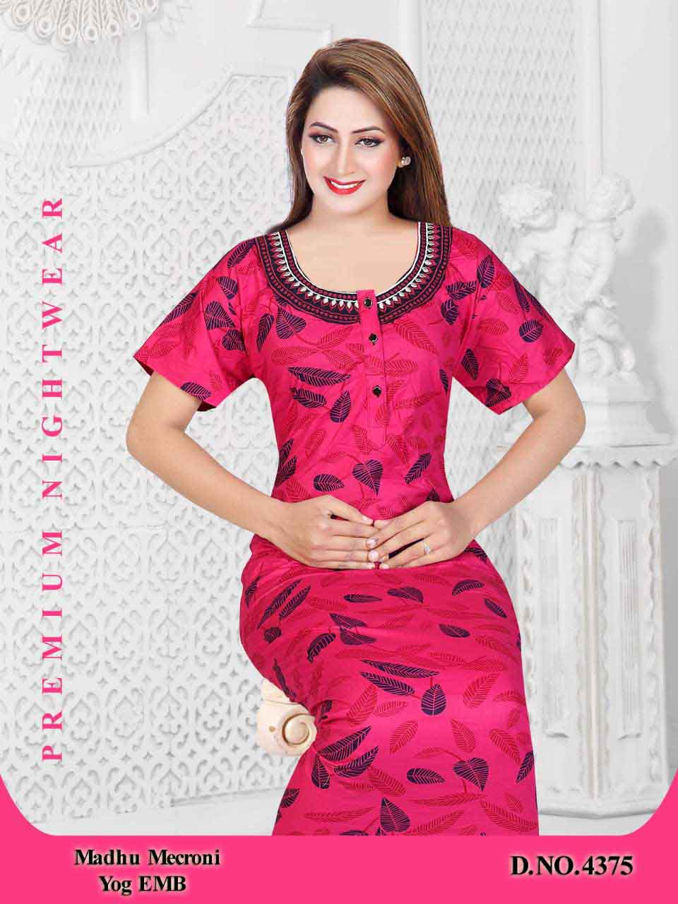 WOMEN NIGHTY-PINK-ML JUNE 4375