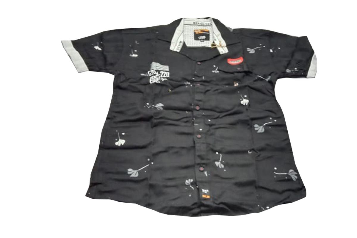 KIDS H-S SHIRT NS MAR 1501 01 2020 BLACK