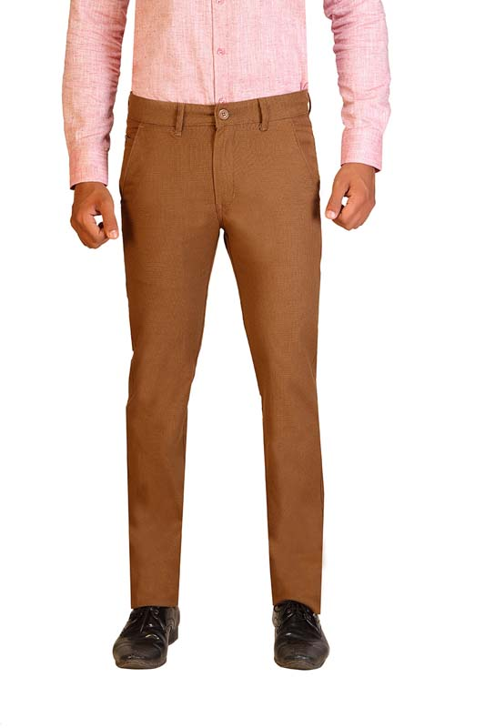 UTD STYLE D 4457 -COFFEE CASUAL TROUSER