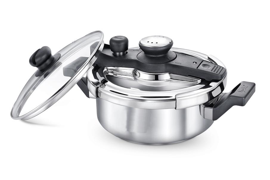 Ss Clip On Svachh 3L Pressure Cooker