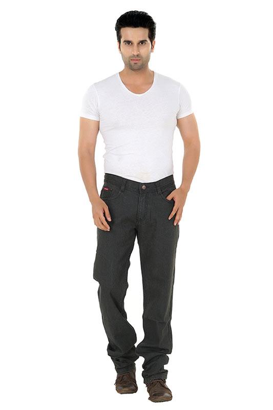 Grey Mens Jeans