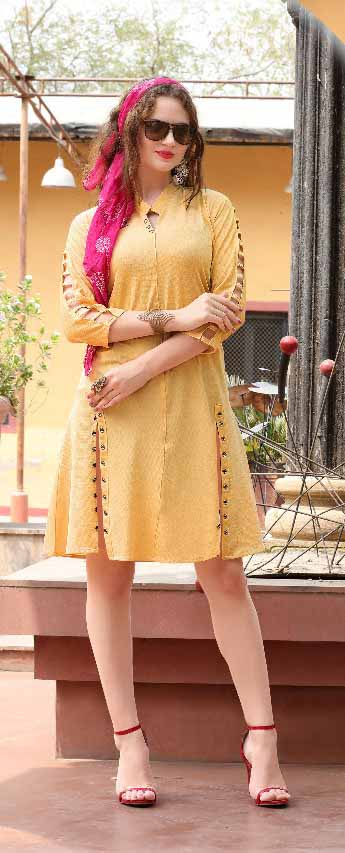 SMC KHUSHBU 01-D NO 5 STYLISH WOMEN KURTY