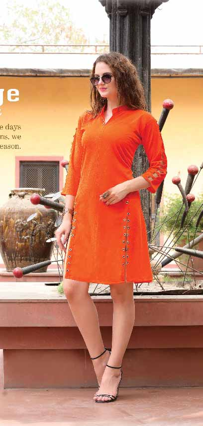 SMC KHUSHBU 01-D NO 6 STYLISH WOMEN KURTY`