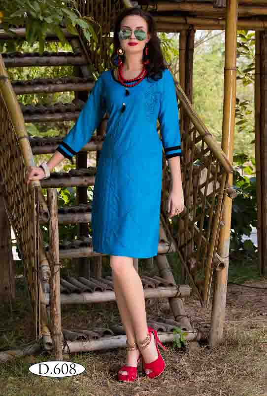 SMC RUBY 02-D NO 8 WOMEN KURTI