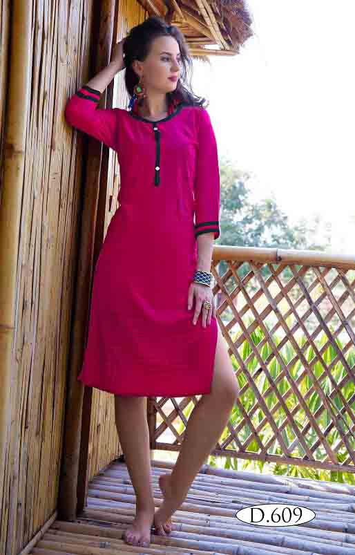 SMC RUBY 02-D NO 9 WOMEN KURTI