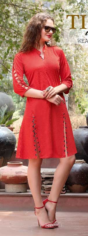 SMC KHUSHBU 01-D NO 10 STYLISH WOMEN KURTY