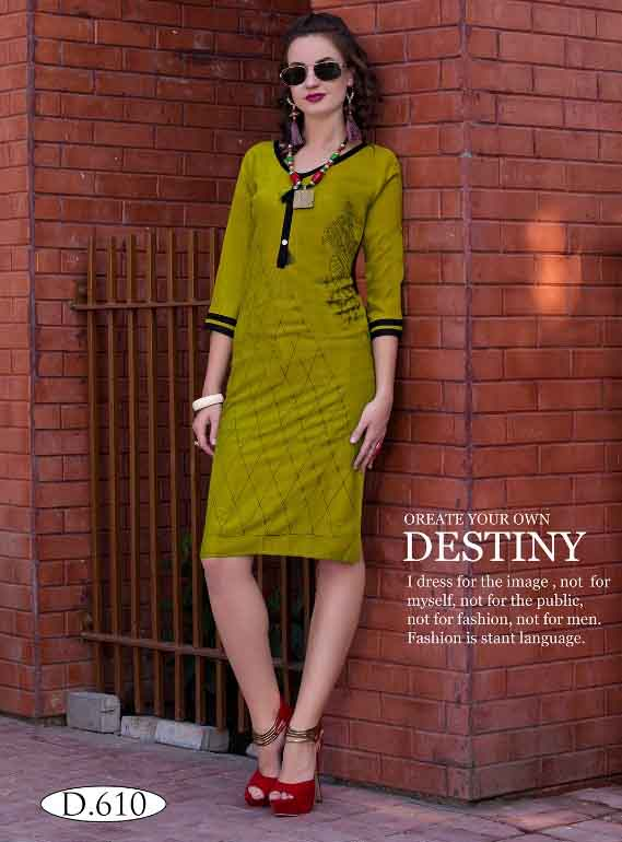 SMC RUBY 02-D NO 10 WOMEN KURTI